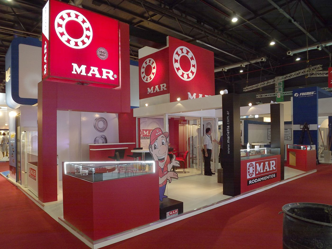 STAND DE MAR EN AUTOMECHANIKA